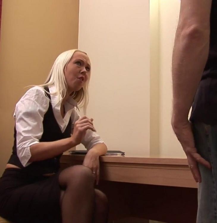 Alyssa Leigh - Evening Job (AmateurCFNM/PureCFNM/HD) - Flashbit