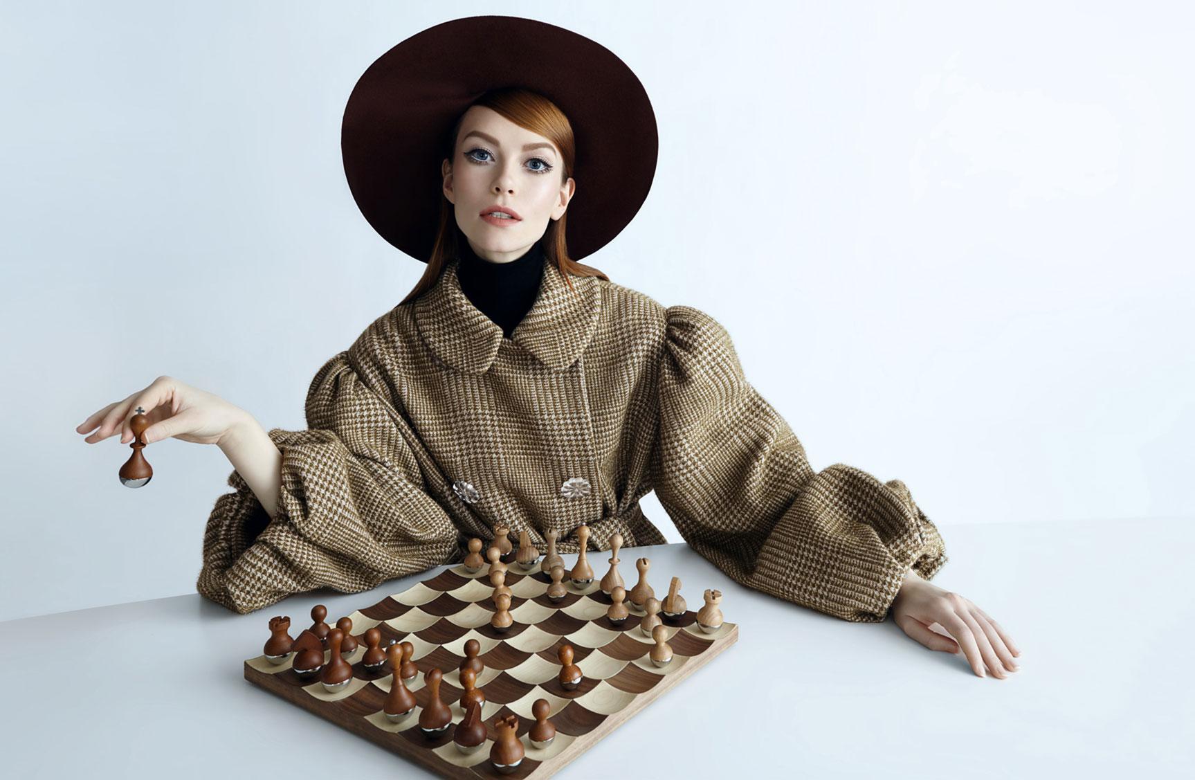 рекламная кампания модного бренда Au Pont Rouge / фото 01