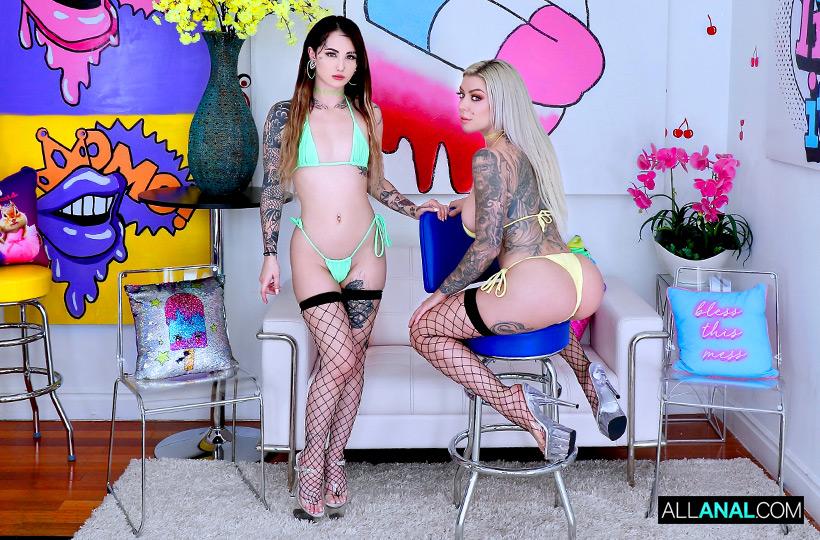 Karma RX, Valerica Steele ~ Valerica, Karma's Anal Slutfest ~ AllAnal.com / StickyDollars.com ~ FullHD 1080p - September 12, 2021