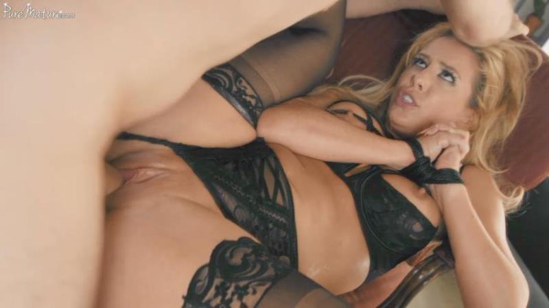Cherie Deville - Tied Up [FullHD/1080p/1.44 Gb] PureMature.com