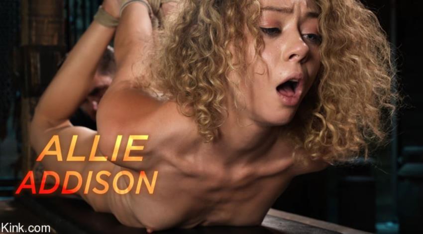 Allie Addsion - Fresh Meat: Allie Addsion Endures Strict Bondage and Torment [HogTied.com / Kink.com / HD 720p] - September 15, 2021