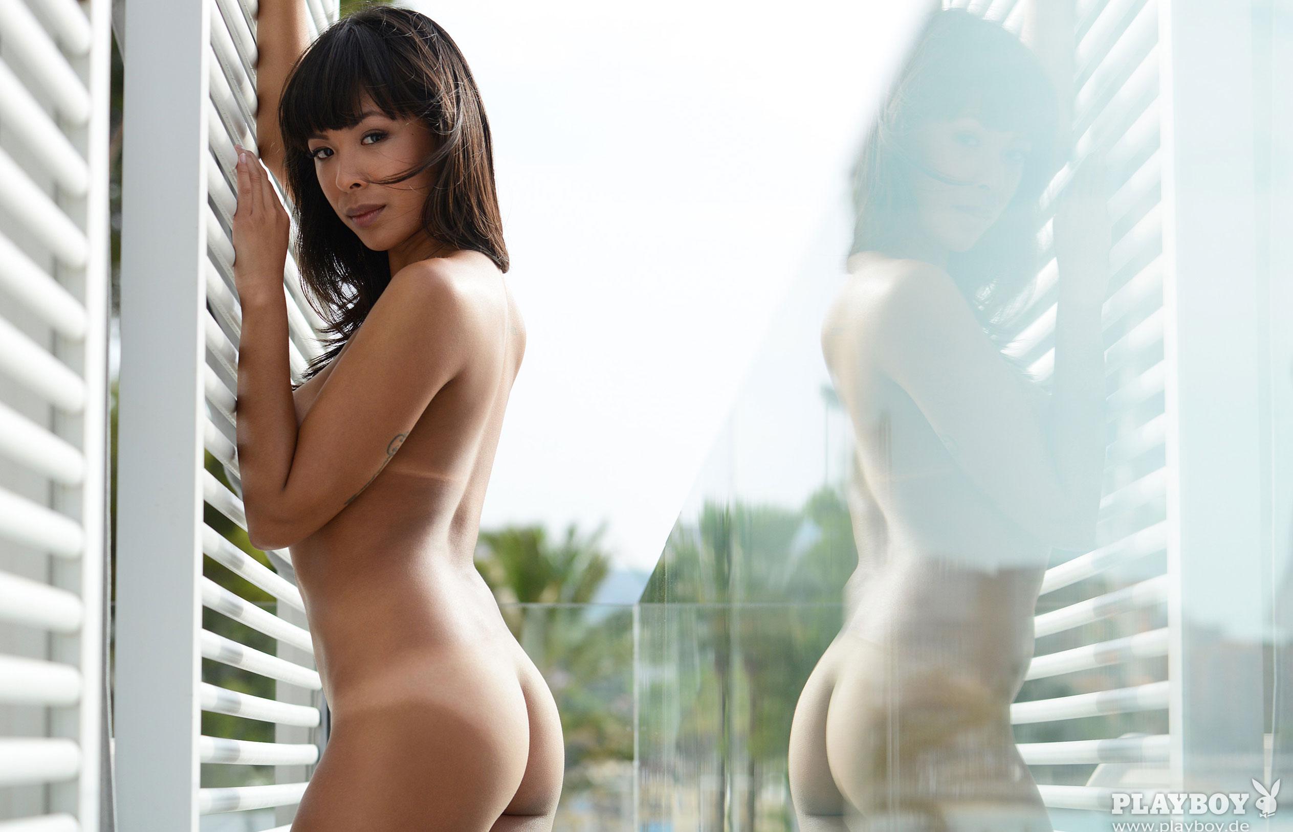 Тхан Нхан - Девушка месяца в Playboy Германия, март 2018 / фото 13