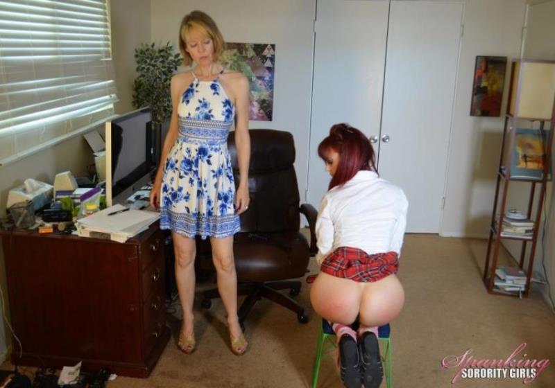 Kira, Clare Fonda - Clare Fonda Spanks Kira In Office (2021/Spankingsororitygirls) [HD/720p/ 341.24 Mb]