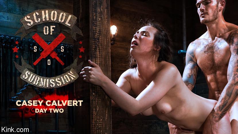 Kink.com: Casey Calvert - School Of Submission: Casey Calvert, Day Two [HD 720p 1.8 GB] - September 17, 2021