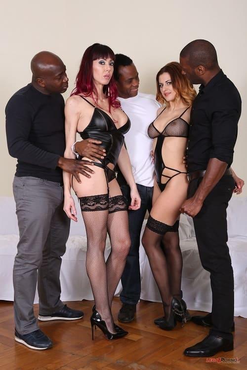 LegalPorno.com: Sofia, Billie Star those hot sluts love anal sex with big black cocks IV064 Starring: Sofia