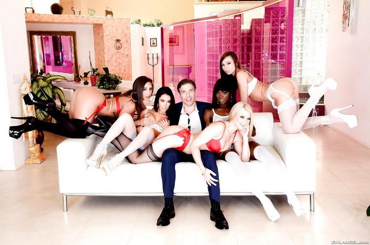 Megan Rain, Anikka Albrite, Abella Danger, Ana Foxxx, Aidra Fox, Mick Blue - Mick Blues Best Day Ever, Scene 3 (2021/EvilAngel) [HD/720p/ 1.99 GB]