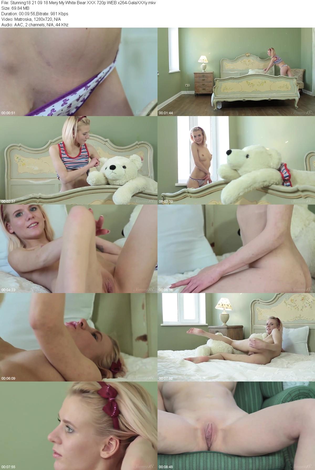 Stunning18 - Mery My White Bear  (720p) - (21 09 18)