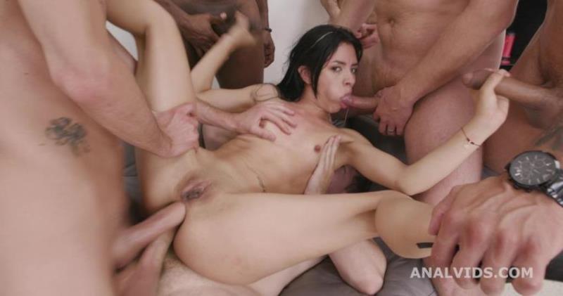 Daniela Ortiz - 7on1 Double Anal GangBang goes Wet, Daniela Ortiz, 7on1, DAP, Rough Sex, Big Gapes, Pee Drink, Cum in Mouth, Swallow GIO1867 (2021/LegalPorno.com/AnalVids.com) [SD/480p/ 1.19 Gb]