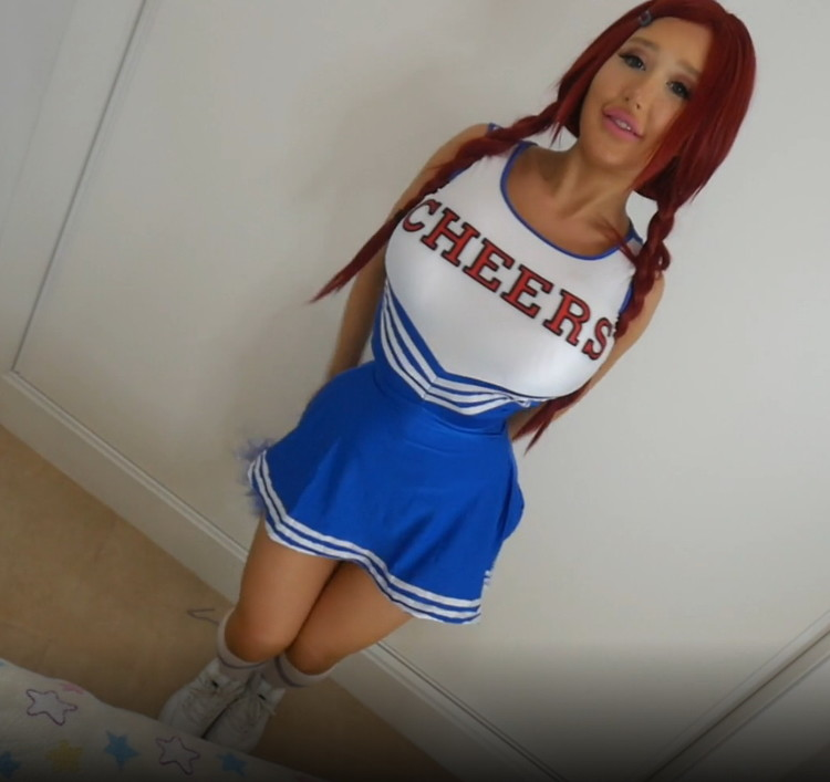 Amanda Toy - Cock Hungry Cheerleader And 3 [FullHD/1080p/663 MB] ManyVids
