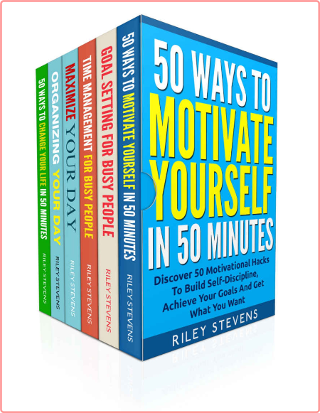 How To Be A Productive Person Box Set (6 Books in 1) - Learn How To Reach Your Goals, Build