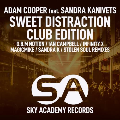 Adam Cooper & Sandra Kanivets — Sweet Distraction (Club Edition) (2021)