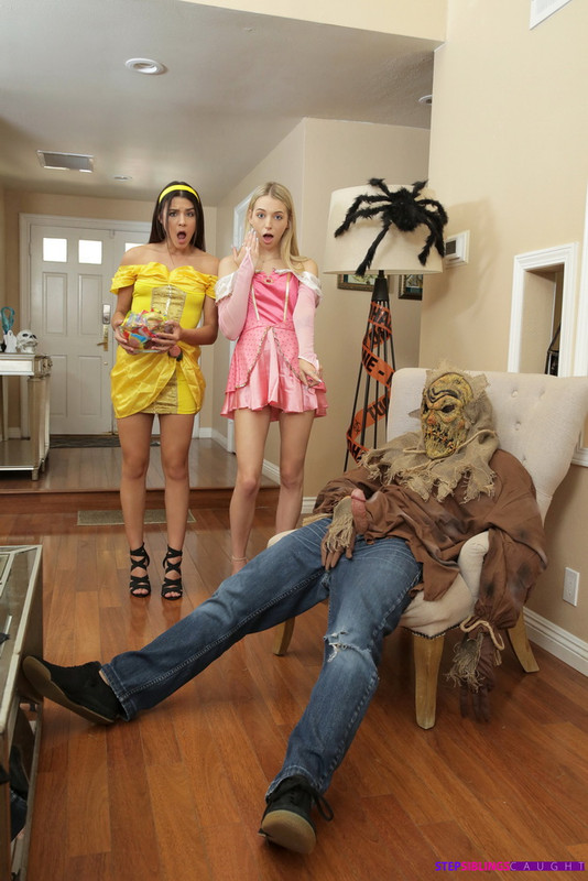 StepSiblingsCaught.com Nubiles-Porn.com: Step Brothers Trick And Treat Starring: Kylie Rocket