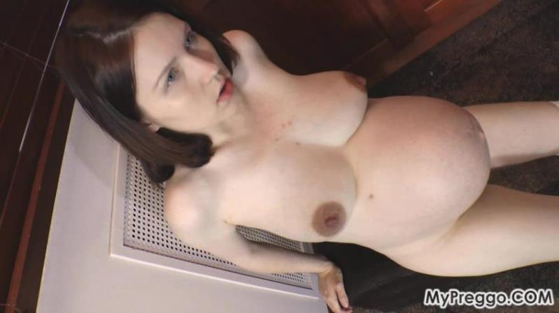 Anastasiya ~ Snack Time Gets Interrupted by Horrible Contractions ~ MyPreggo.com ~ FullHD 1080p