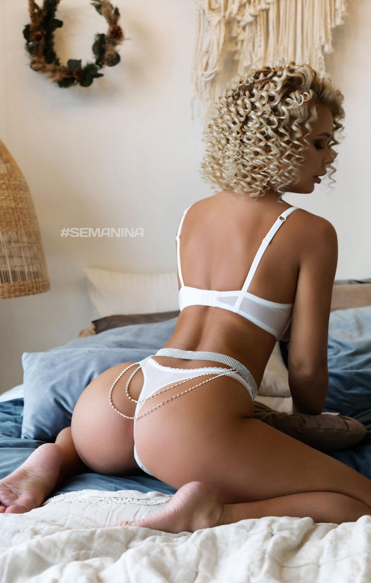 сексуальная Дарина Никитина в нижнем белье и без него / фото 16