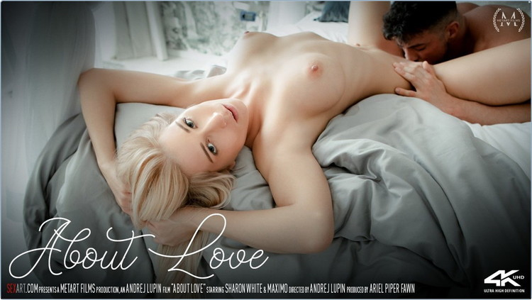 Sharon White - About Love (2021/SexArt) [FullHD/1080p/ 1.17 GB]