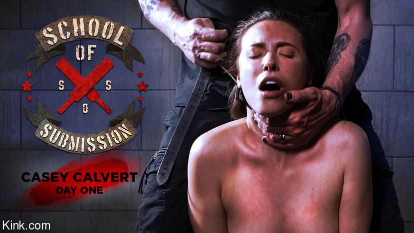 Casey Calvert ~ School Of Submission: Casey Calvert, Day One ~ Kink.com ~ HD 720p - September 10, 2021