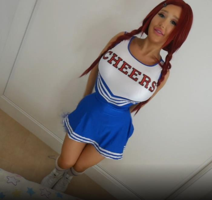 ManyVids.com: Cock Hungry Cheerleader And 3 Starring: Amanda Toy