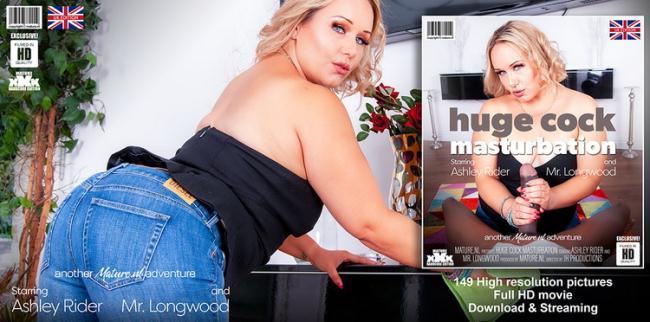 Mature.nl Mature.eu: This is some huge cock masturbation Starring: Ashley Rider