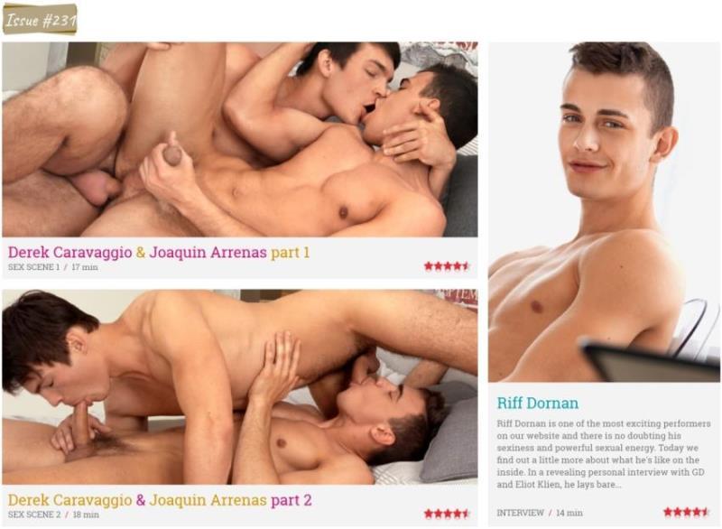 Derek Caravaggio, Joaquin Arrenas, Riff Dornan ~ Derek Caravaggio, Joaquin Arrenas, Riff Dornan ~ FreshMen.net ~ HD 810p